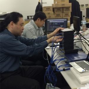 YAMAHA L2スイッチのポート試験をする #弊社5F 社員